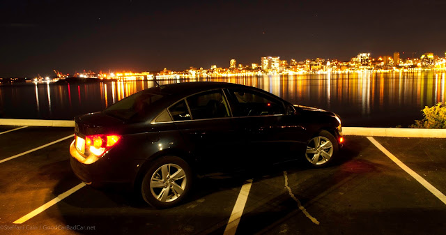 2014 Chevrolet Cruze Diesel profile Halifax waterfront