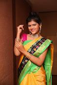 Sangeetha Kamath dazzling saree photos-thumbnail-15