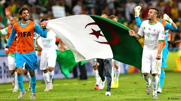 موعد وتوقيت مشاهدة مباراة الجزائر والمانيا الاثنين 30/6/2014 مونديال البرازيل