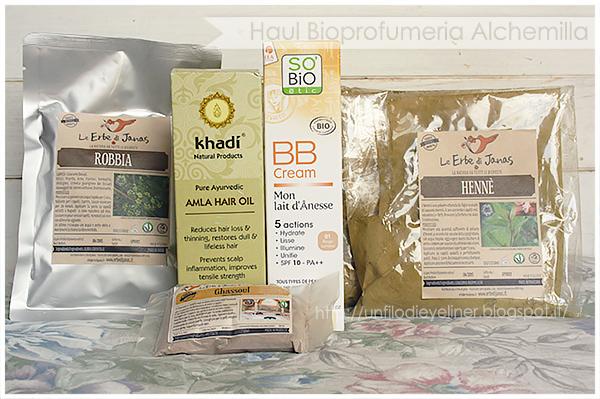 haul bioprofumeria alchemilla