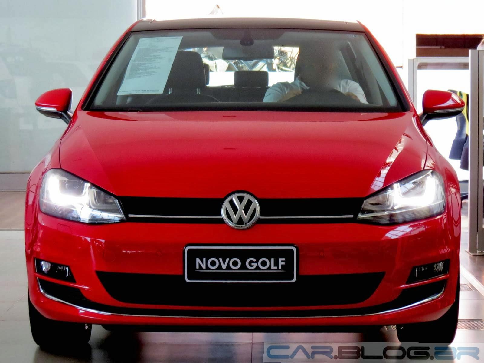 VW Golf 2014: recall por defeito na bomba de combustível