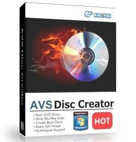 Download   AVS Disc Creator 5.0.7.521 Final   Full Version