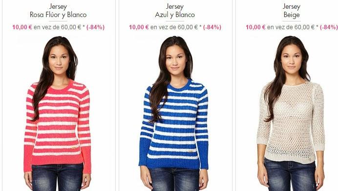 Modelos de jerséis de mujer por sólo 10 euros.