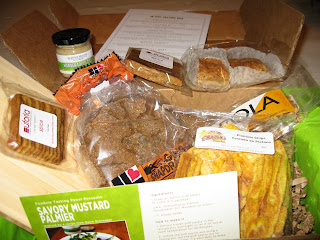 April Foodzie Tasting Box