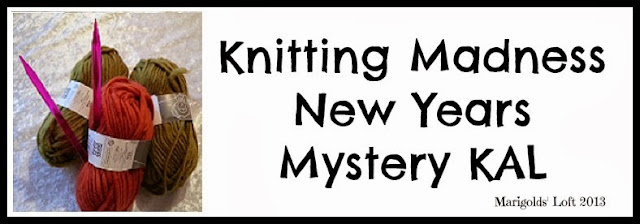 Knitting Madness Mystery KAL Part 2