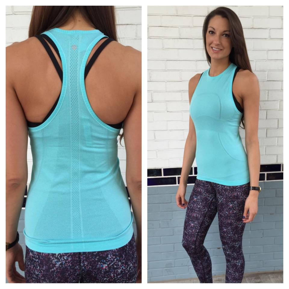 lululemon angel-blue-swifty-tank rocky road wunder under pant