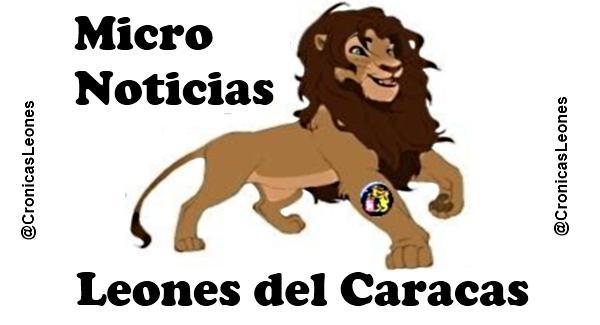 Micro Noticias leones del caracas