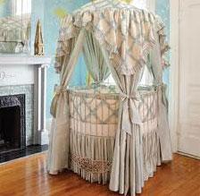 round canopy crib - ShopWiki