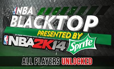 NBA 2K14 Blacktop Unlock All Players