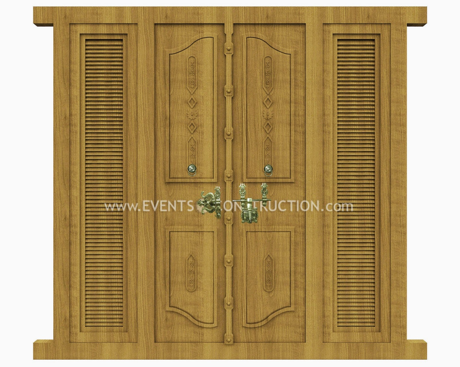 Evens construction pvt ltd wooden main door design for Main door designs 2014
