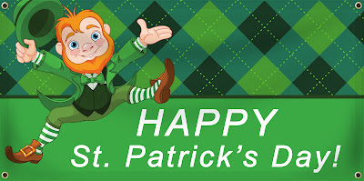 Happy St. Patrick's Day Banner | Banners.com