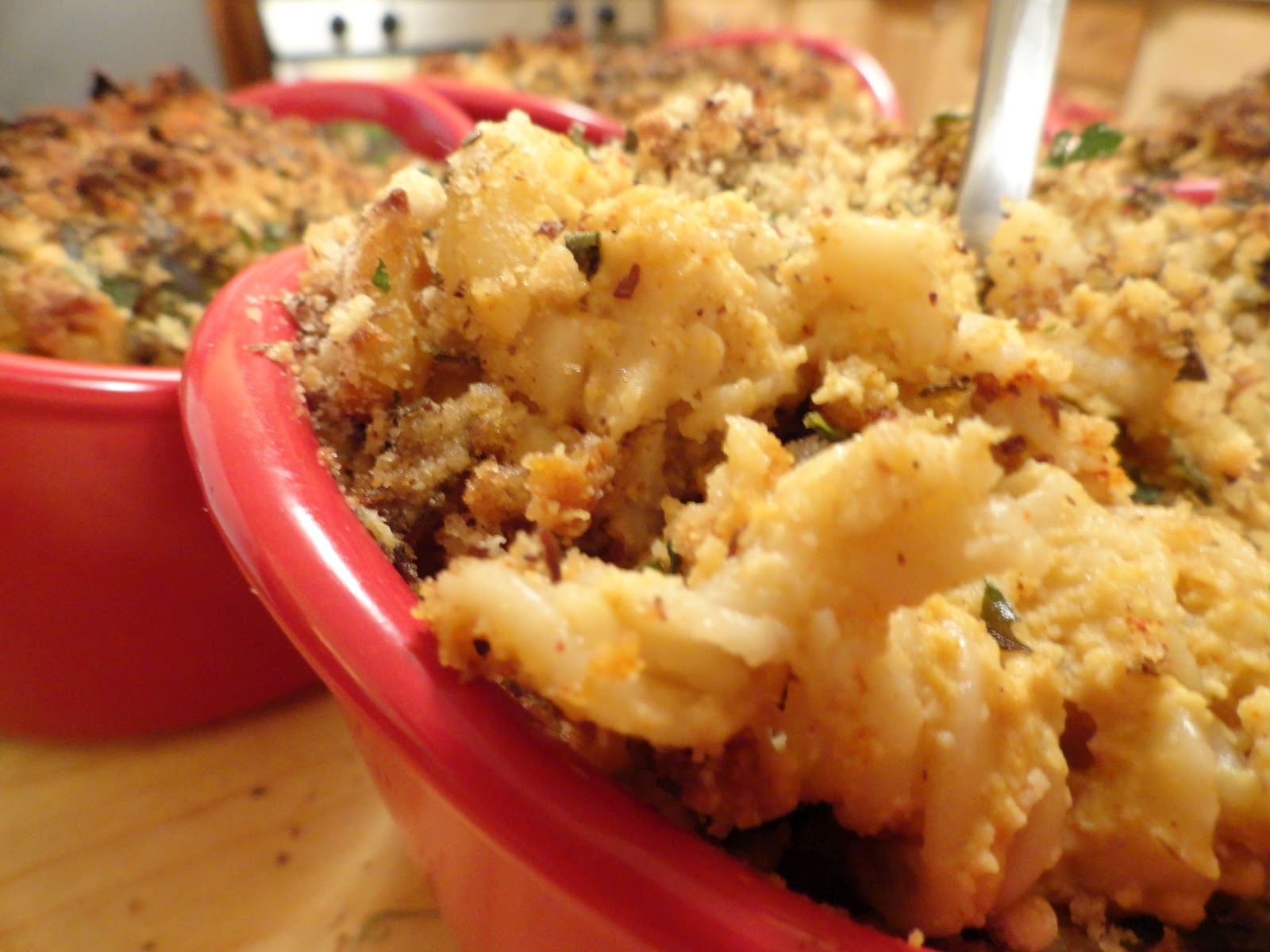 "Baked Macaroni and Pumpkin Cashew Cheese | The ""V"" Word"