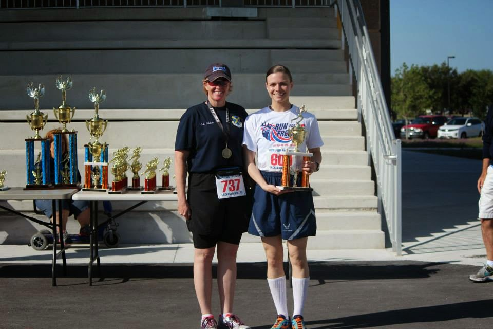 BMT PT, Air Force BMT Physical Training, BMT 5K Overall Female Winner
