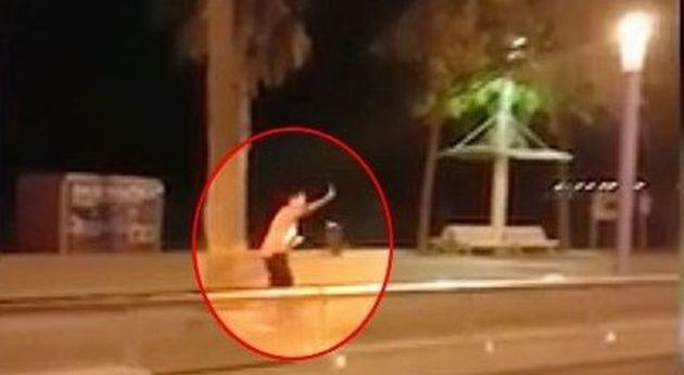 Ένας αστυνομικός σκότωσε 4 από τους 5 τζιχαντιστές – Δείτε σε βίντεο τζιχαντιστή να πέφτει νεκρός