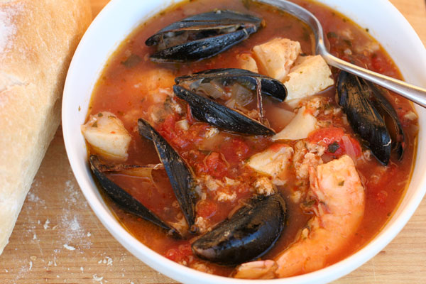International Recipe Syndicate: Cioppino Recipe