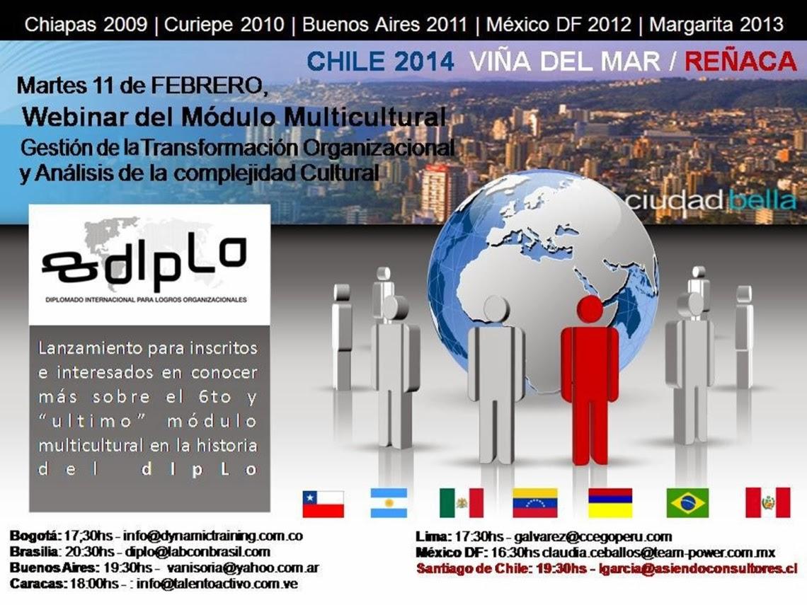 Webinar : Gestión de la Transformación Organizacional y Análisis de la Complejidad Cultural - 11 de febrero