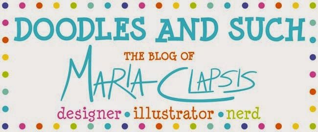 Doodles and Such: Maria Clapsis Illustrations