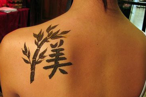 Chinese Letter Tattoos | Popular Tattoo Designs