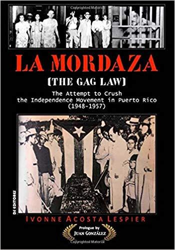 Mi nuevo libro: La Mordaza en inglés..