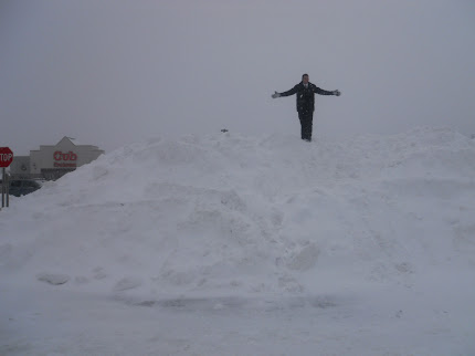Mountain of MN snow
