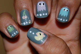 elephant walk, ms. pacman nails