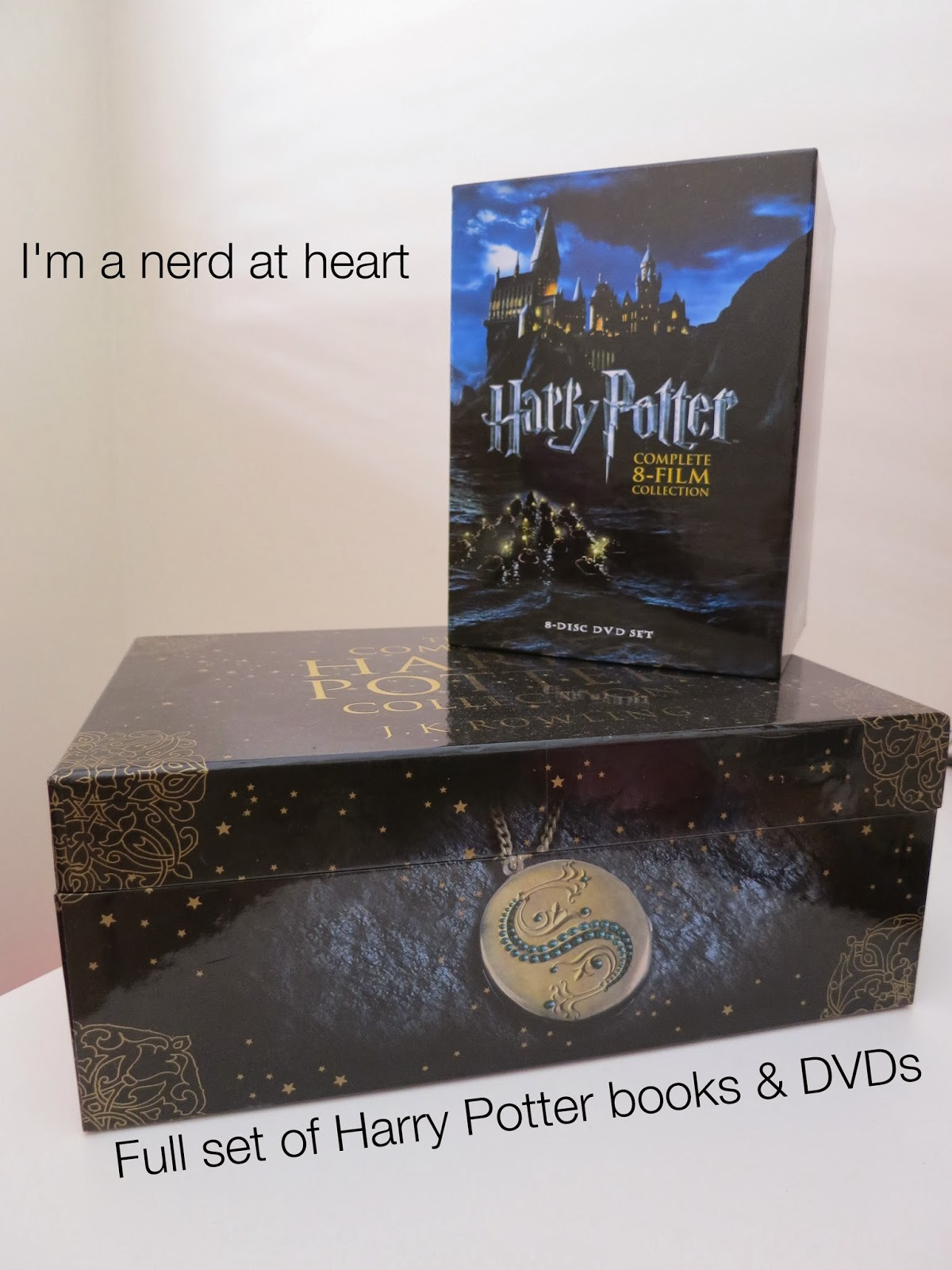 christmas haul, harry potter books and dvds