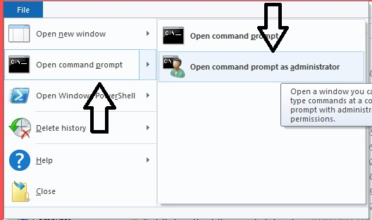 "setelah command promt terbuka.Ketik "" DISM.exe /Online/enable ..."