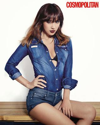 Hyori - Cosmopolitan Magazine November Issue 2013