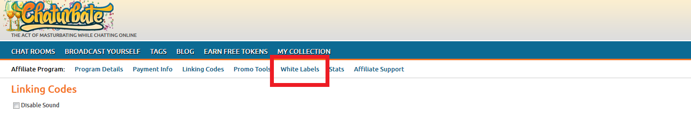 how to create white label website