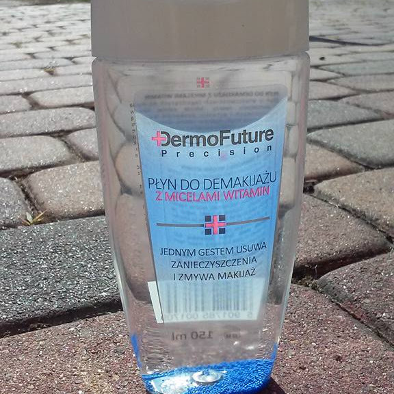 DermoFuture Precision Płyn do demakijażu z micelami witamin