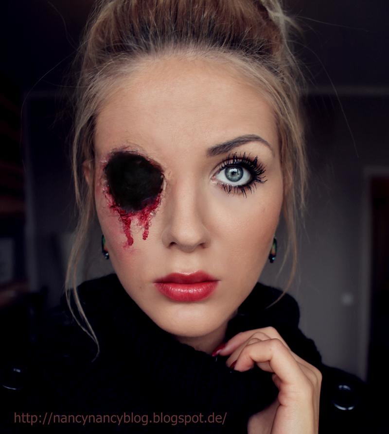 Nancynancy Verlorenes Auge Schnelles Halloween Makeup Tutorial