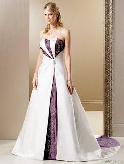 Vestidos de noivas coloridos 07