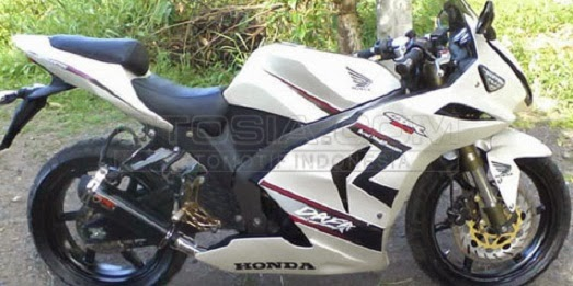 Modifikasi Honda Tiger 2008