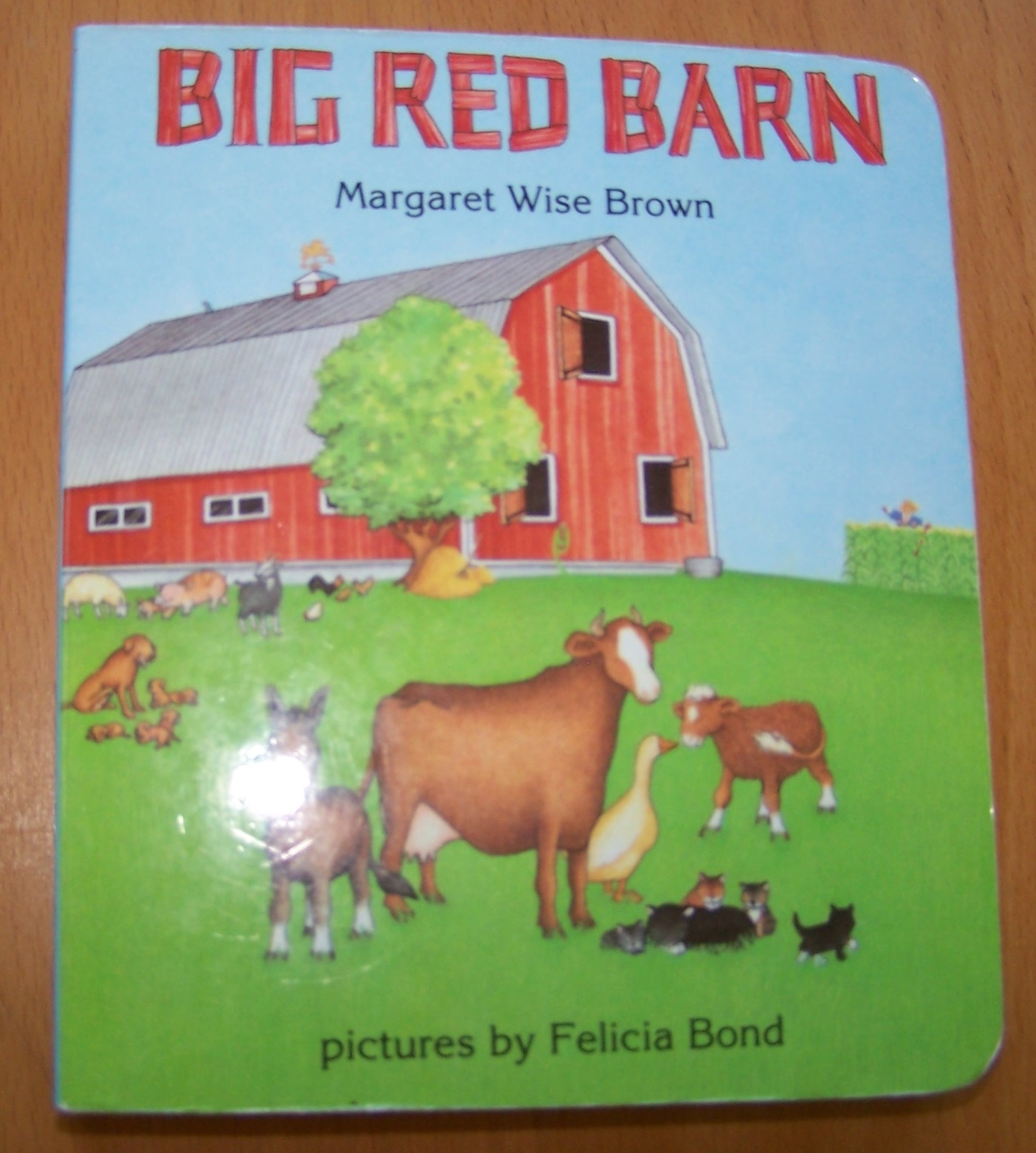 the big red barn by margaret wise brown Nothing is more important than an area designated for our youngest visitors and their adult caregivers modeled after margaret wise brown's, the big red barn,.