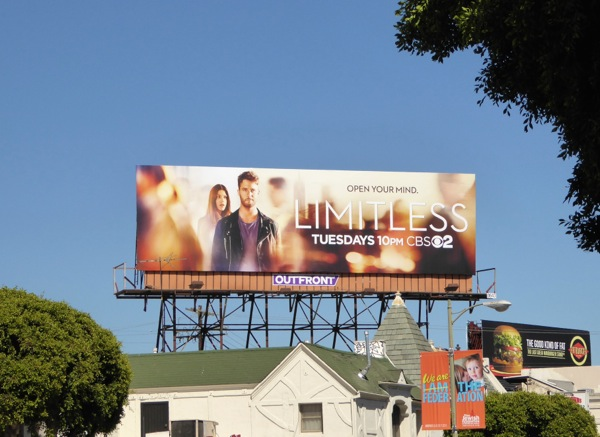 Limitless series premiere billboard
