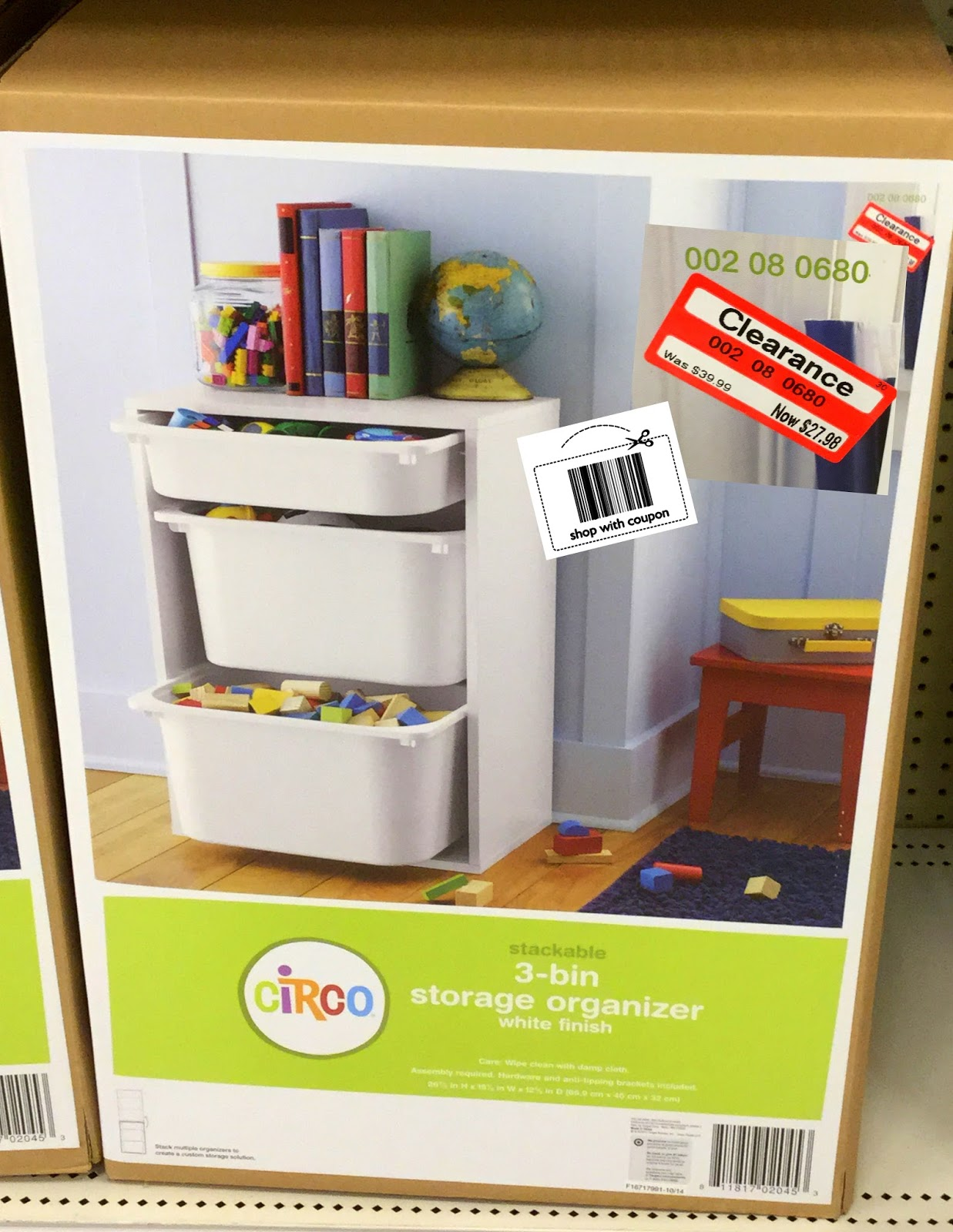 Target Clearance :: Save 50% On Circo Storage Bins And Organizers
