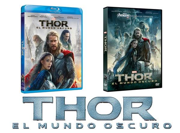 Thor: El Mundo Oscuro DVD y Blu-ray