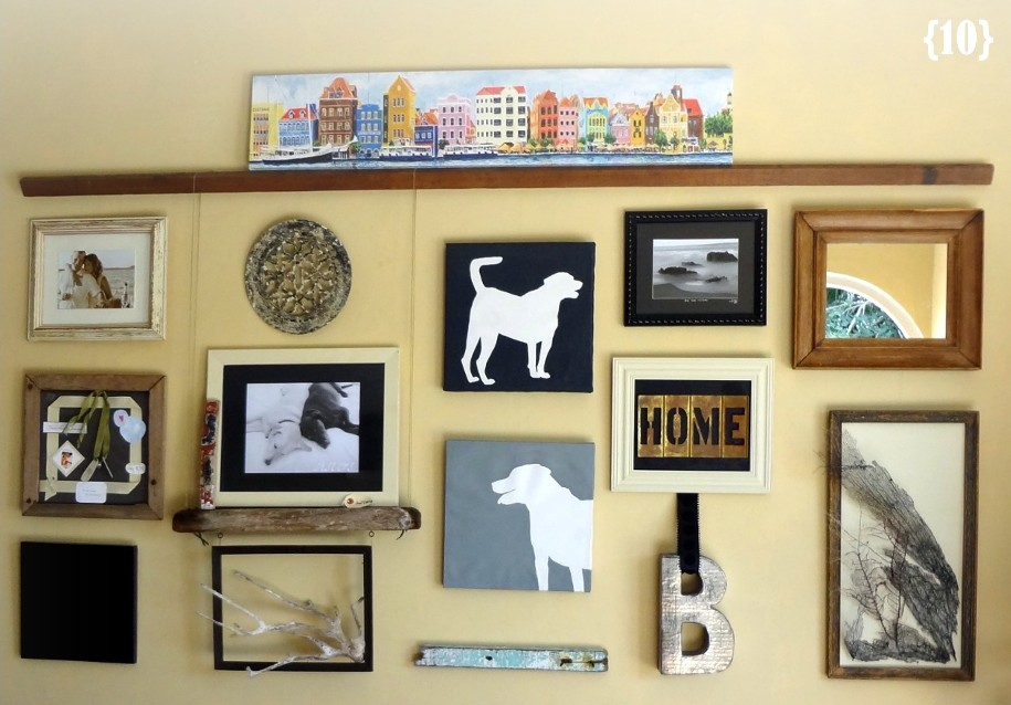 12 Ways to Create a Gallery Wall - My Sister\'s Suitcase - Packed ...