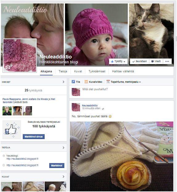 blogi facebook-sivu neuleaddiktio