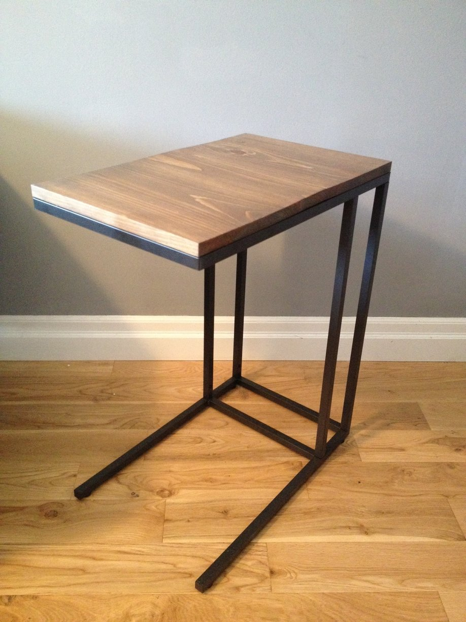 Vittsjo laptop table to upscale side table get home for Base de table ikea