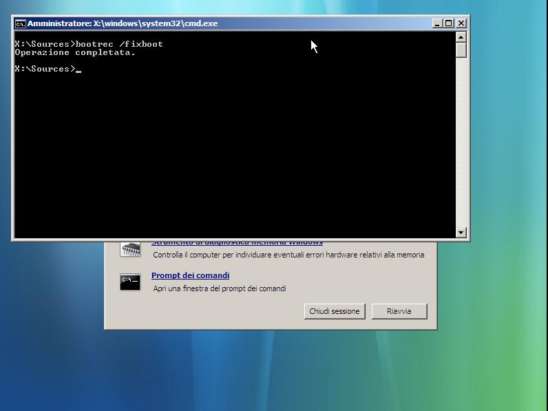dicecca     blog windows vista   ripristinare il bootmgr