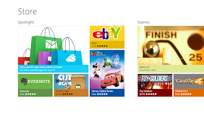 Uso de Windows Store