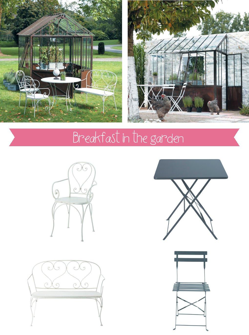 Sponsor arredare il giardino con maisons du monde home - Maison du monde tavoli da giardino ...