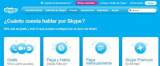 Skype tarifas, ojo con la letra pequeña