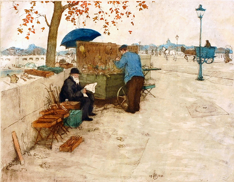 Tavik Frantisek Simon 1877-1942 | Czech Colorist painter
