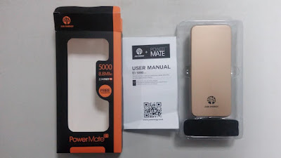 JUA ENERGY 5000mAh Powerbank Review