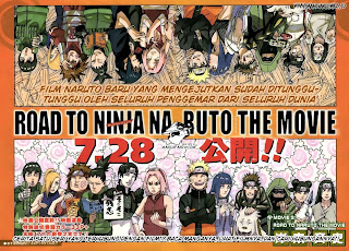 Komik Naruto Movie 9 : Road to Ninja Bahasa Indonesia