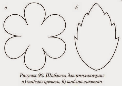 Шаблоны для цветов из бумаги