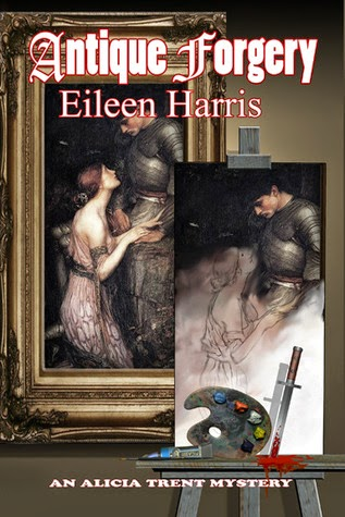 Antique Forgery by Eileen Harris Book Tour