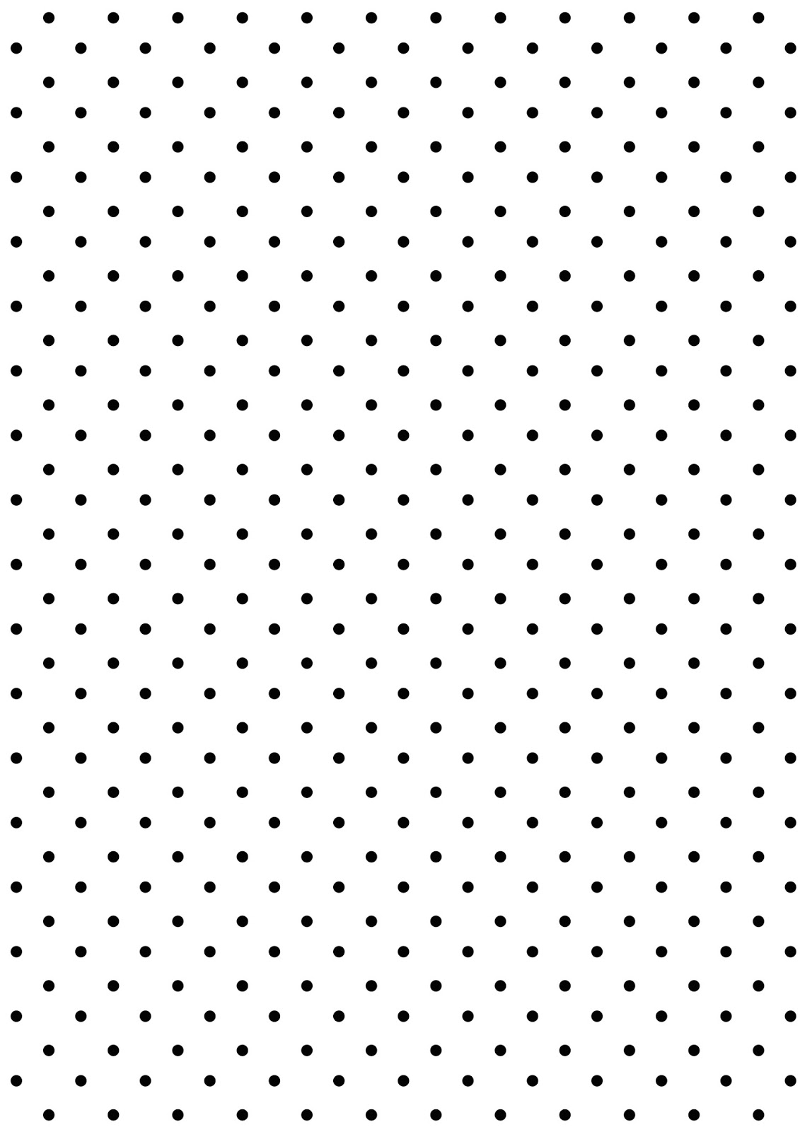 Black and white polka dot pattern - photo#9